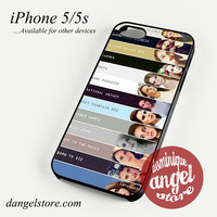 Lana Song Collage Phone case for iPhone 4/4s/5/5c/5s/6/6 plus