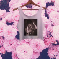 Stevie Nicks Gypsy Crop Top