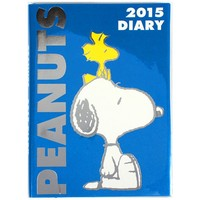 2015 Peanuts Snoopy Schedule Book Weekly Planner Agenda Diary Blue B6 Japan