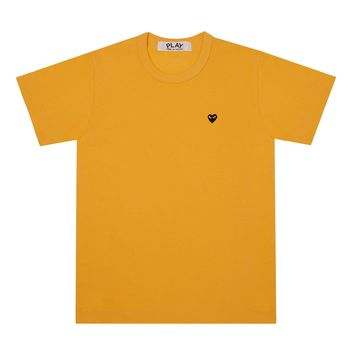 Play Colour Series T-Shirt Little Black Heart (Yellow)