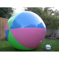 "51"" or (4 1/4 ft.) Tall Inflatable Large Beach Ball, Party Fun, Monster Ball Giant XXL"