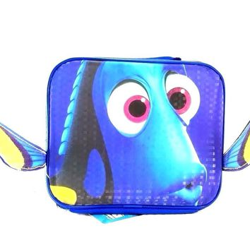 Disney Pixar Finding Dory Blue Insulated Lunch Bag/Box