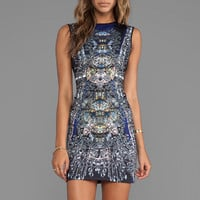 Clover Canyon Russian Enamel Neoprene Dress in Multi from REVOLVEclothing.com