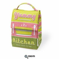 Insulated Lunch Tote ~ Yummy Kitchen