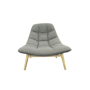 Maja Lounge Chair - Light Grey | Modern, Mid-Century & Scandinavian | GFURN