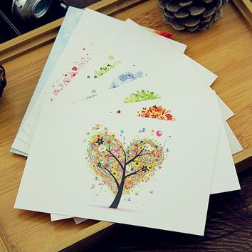 35 Love Tree Greeting Card