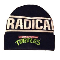 Teenage Mutant Ninja Turtles TMNT Radical Knit Cuff Beanie Hat Skull Cap