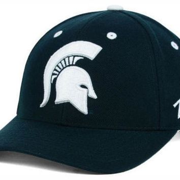 ESBON NCAA Zephyr Michigan State University Competitor Hat with Spartan