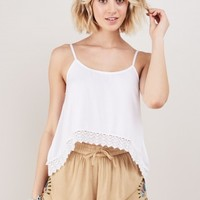 Emersyn Side Embroidered Shorts