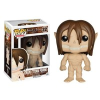 "Attack on Titan POP! Anime Eren (Titan Form) 3.75"" Vinyl Figure"