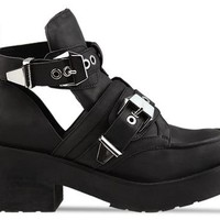 Jeffrey Campbell Coltrane in Black Distressed at Solestruck.com