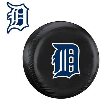 Detroit Tigers MLB Spare Tire Cover and Grille Logo Set (Regular)