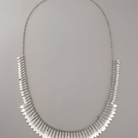 Elizabeth and James - Sterling Fringe Necklace
