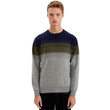 Renfrew Ombre Stripe Scottish Cashmere Sweater