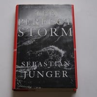 The Perfect Storm: A True Story of Men Against the Sea by Junger, Sebastian: W.W. Norton 9780393040166 Hardcover, Book Club Edition - Wisdom Lane Antiques