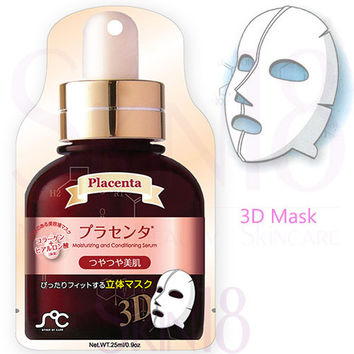 Soc 3D Beauty Serum Face Mask Pack (Placenta) – brighten & soften