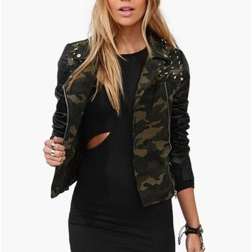 Army Time Jacket in Olive