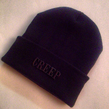 Blacked Out CREEP Beanie