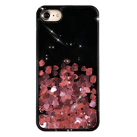 Rose Gold Chrome Hearts iPhone Case