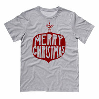 Vintage Merry Christmas Bulb Shirt
