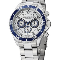 Aquadiver 643 Stainless Steel Watch, 42mm