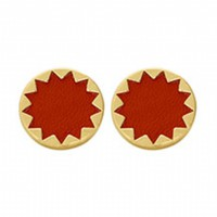House of Harlow 1960 Jewelry Sunburst Button Earrings