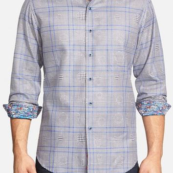 Men's Robert Graham 'London Eye' Classic Fit Plaid Sport Shirt,