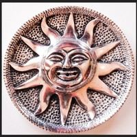 Sun Metal Incense Burner