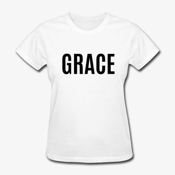 Grace | Christian | Faith | Religious T-Shirt | Christian Life Apparel