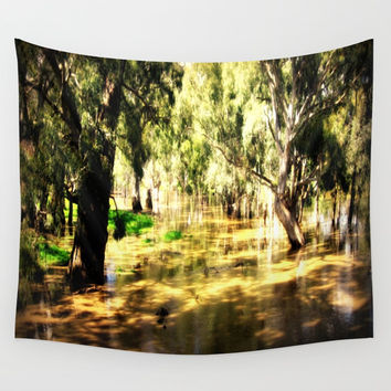 Flooded Plains Wall Tapestry by Chris' Landscape Images & Designs