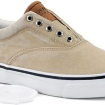 Sperry Top-Sider Striper CVO Salt Washed Twill Sneaker ChinoSaltWashedTwill, Size 11M  Men's Shoes