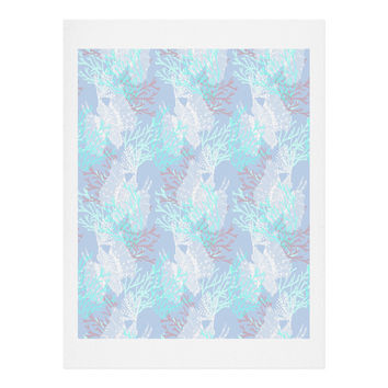 Aimee St Hill Tiger Fish Blue Art Print