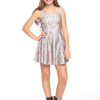 Girls Nana's Pearls Skater Dress