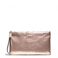 Coach :: MADISON ZIP CLUTCH IN SEQUINS