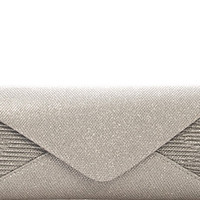 An Evening Out Silver Clutch Bag
