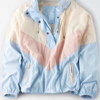 AE Colorblock Windbreaker, Multi