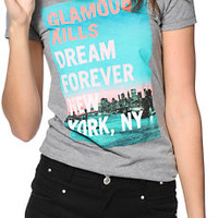 Glamour Kills Dream Forever NYC Tee Shirt