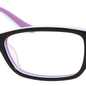 Juicy Couture Girl's Rectangular Eyeglasses JU909