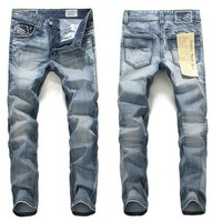 Slim Men Pants Fashion Jeans [6528533827]