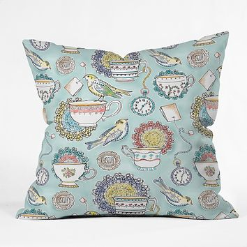 Heather Dutton Tea Time Throw Pillow
