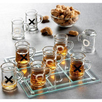 Game Night Drinking Tic Tac Toe Game   Overstock.com