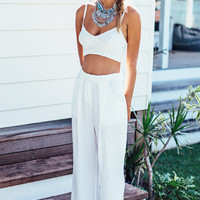 Rosay Trousers - White | SABO SKIRT