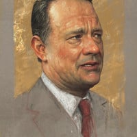 Tom Hanks Art Print by Sam Spratt | Society6