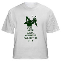 Green Arrow -- Custom Don't Keep Calm You Have Failed This City Shirt, Comic Book Green Arrow TV Show