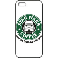 Starbucks Star Wars May The Froth Be With You Apple iPhone 5 /5s /SE