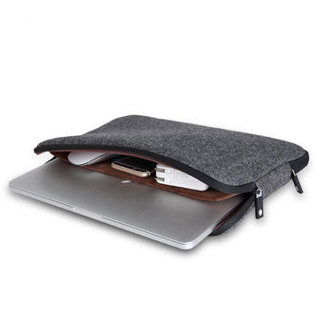 Felt Waterproof Laptop Bag +Free Keyboard Cover for Macbook Air/Pro 13 Laptop