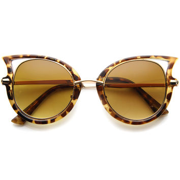 ALAIA RETRO CAT EYE SUNGLASSES