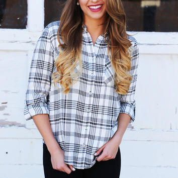 Fit The Part Striped Button Up