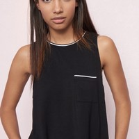 Sporty Pocket Muscle Tank