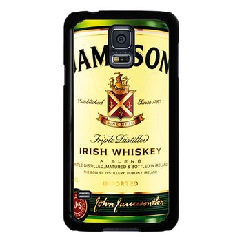 Jameson Wine Irish Whiskey Samsung Galaxy S5 Case